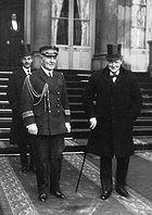 Churchill à l'Élysée © BnF / Gallica