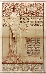 Affiche de l'exposition les primitifs