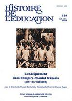 Couverture de l'Histoire de l'Éducation