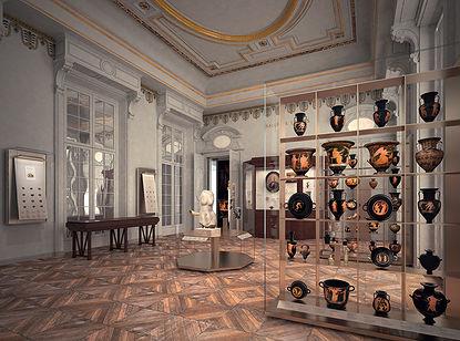 Esquisse de la salle de Luynes © Guicciardini & Magni Architetti